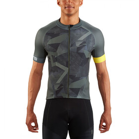 Skins Cycle Classic SS Jersey Men Full Zip havana utility